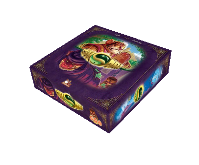 Samsara Board Game 3D Box
