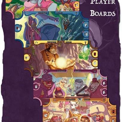 Samsara Player Boards