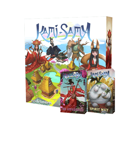 Kami-Sama board game with Awakening and Spirit Way Expansions!