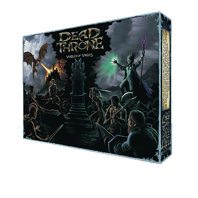 Dead Throne Board Game